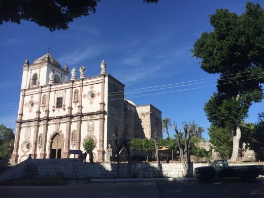 The church in San Ignacio