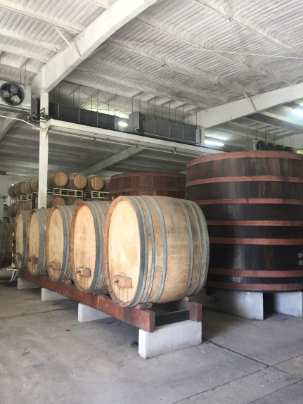 on the winery tour